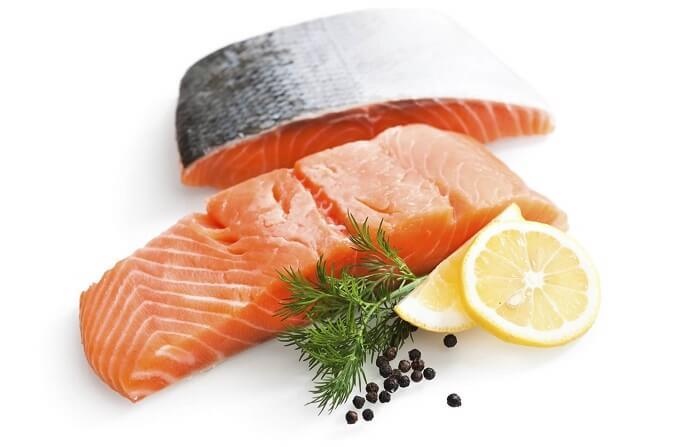 Cá hồi có hàm lượng protein cao được các gymer yêu thích