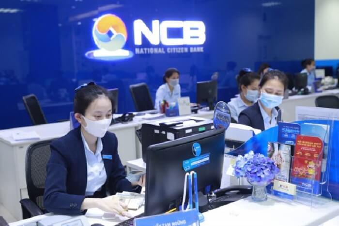 Ngân hàng NCB làm việc từ thứ 2 đến thứ 6