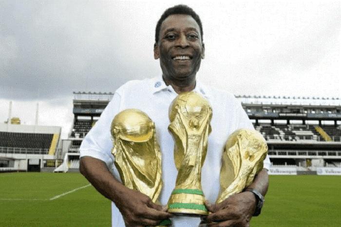 Pele được xem như báu vật quốc gia của Brazil